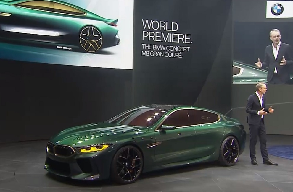 Video Photos Bmw Concept M8 Gran Coupe A Tech2