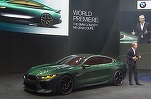 VIDEO & FOTO BMW Concept M8 Gran Coupe - un preview al viitorului model Serie 8