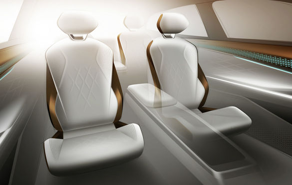 PHOTO Volkswagen launches a new electric car, ID. The room VIZZION, at the Los Angeles salon