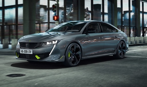 FOTO Peugeot a lansat primul model sport hibrid: 508 Sport Engineered