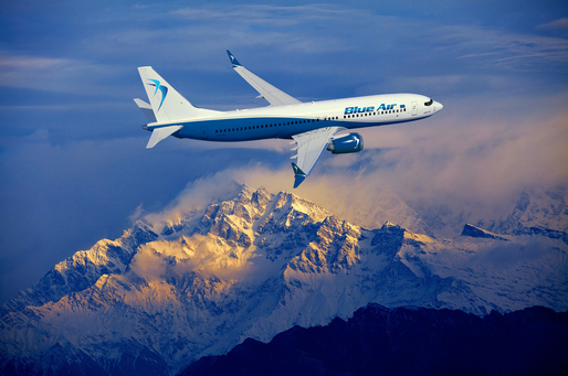 Blue Air introduce 13 rute noi