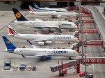 Transportul aerian de pasageri a înregistrat o scădere fără precedent