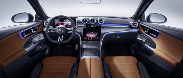 VIDEO AND PHOTOGRAPHY World premiere for the new Mercedes C-Class with MBUX plate and engines up to 2.0 liters