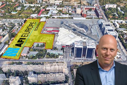 EXCLUSIV AFI Europe pregătește terenul pentru un proiect imobiliar mixt de anvergură, în spatele mall-ului din Cotroceni, cu PUZ propriu. Demolează o fostă sucursală BCR și va începe cu apartamente de închiriat