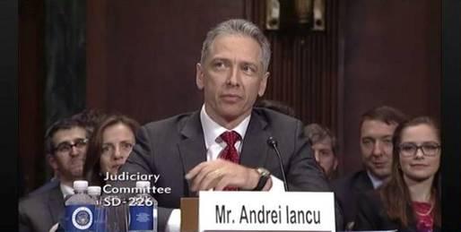 VIDEO Românul Andrei Iancu a preluat șefia Oficiului pentru Brevete și Mărci al SUA și devine principalul consilier în domeniu al lui Trump. Niciun vot împotrivă