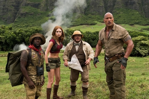 "Box office nord-american: ""Jumanji: Welcome to the Jungle"" a ajuns pe primul loc după trei weekenduri de la premieră"