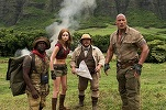 "Box office nord-american: ""Jumanji: Welcome to the Jungle"" s-a menținut pe primul loc; trei premiere în top 10"