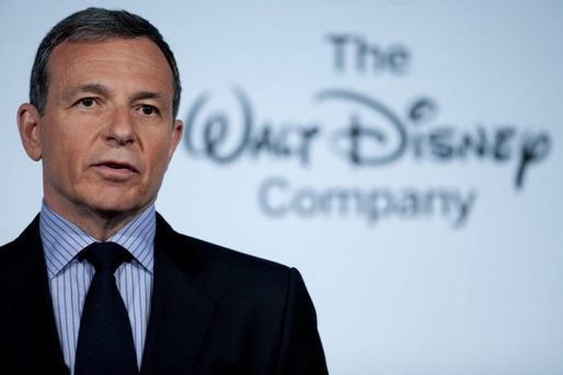 Bob Iger, CEO al Disney Co., cea mai influentă personalitate din Entertainment pe 2018
