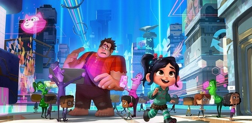 "Animația ""Ralph Breaks the Internet"" s-a menținut pe primul loc în box office-ul nord-american"