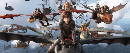 "Animația ""How to Train Your Dragon: The Hidden World"" s-a menținut pe primul loc în box office-ul nord-american de weekend"