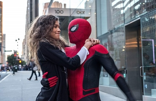 """Spider-Man: Far from Home"" s-a menținut pe primul loc în box office-ul nord-american de weekend"