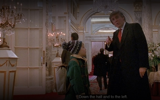 "Canadienii au tăiat secvența din ""Home Alone 2"" în care apare Donald Trump"