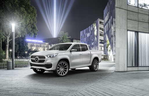 VIDEO Mercedes lansează X-Class, teoretic cel mai luxos pick-up din lume