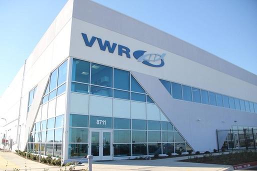 VWR, o companie americană de peste 6 miliarde dolari, a