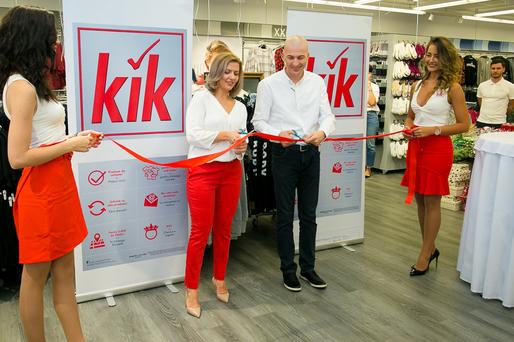 CONFIRMARE- FOTO Retailerul german Kik Textilien a intrat astăzi în România după ce a avut cele mai mari vânzări din istorie. Compania vine în mai multe orașe din țară