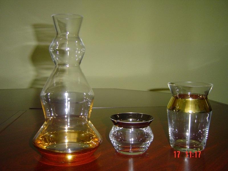 sticlă în tranzacționare