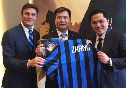 Grupul chinez de distribuție Suning Commerce Group a devenit proprietarul clubului de fotbal Inter Milano