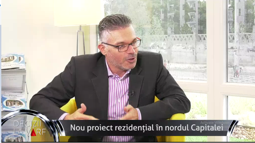 VIDEO Tal Roma, Business Manager Afi City: Nou proiect rezidențial in nordul Capitalei