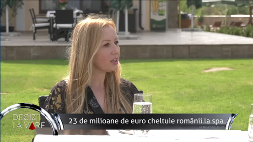 VIDEO Clara Stroe, GM Country Spa, Profit TV: Piața de spa din România
