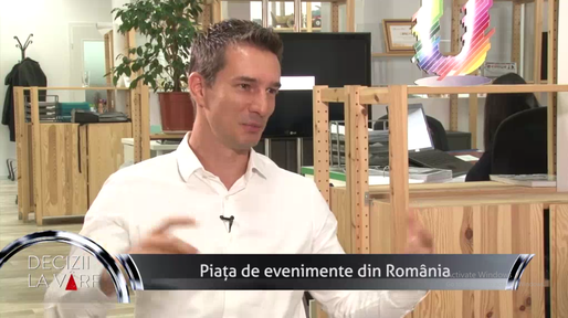 VIDEO Cristian Hossu, CEO Universum Events, Profit TV: Evenimentele corporate, o nișă în expansiune
