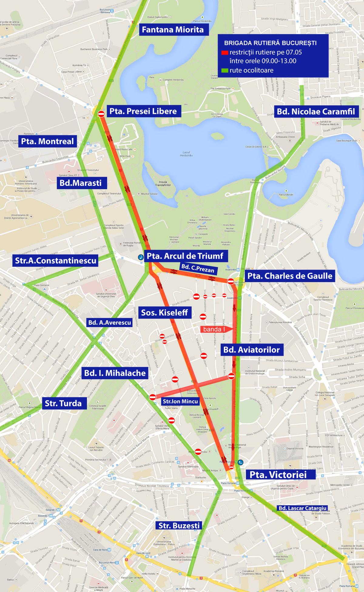 Restricţii De Circulaţie In Capitală Pentru News Ro