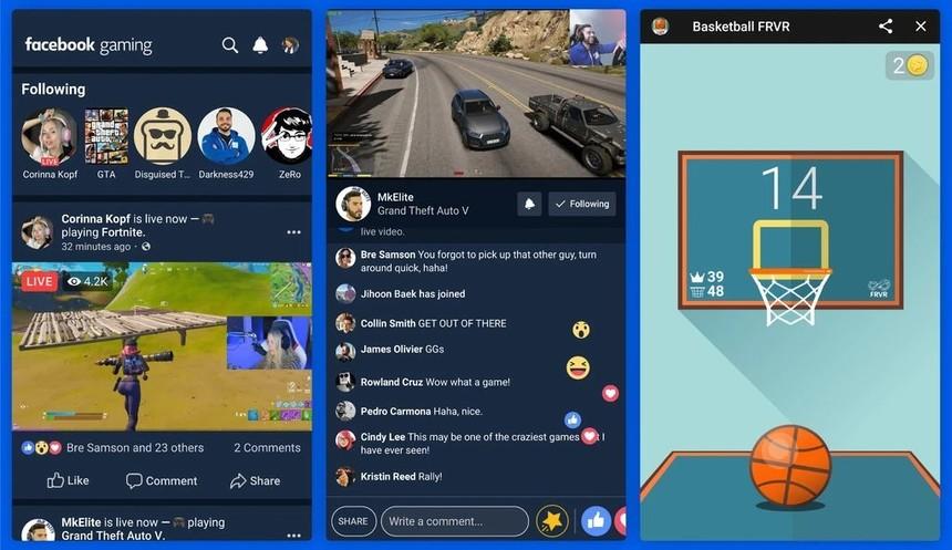 Facebook lansează o aplicaţie pentru streaming-ul de jocuri