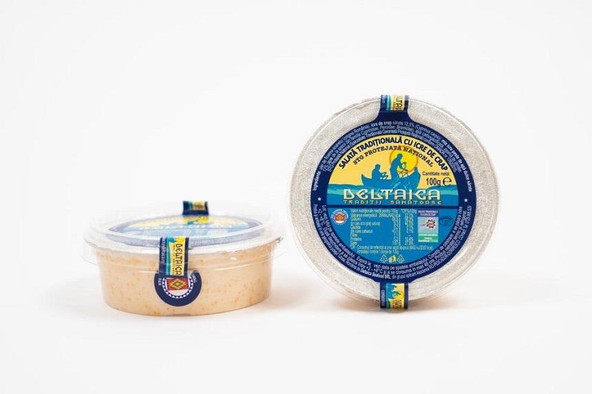 Salata tradiţională cu icre de crap din România: specialitate tradiţională garantată în UE