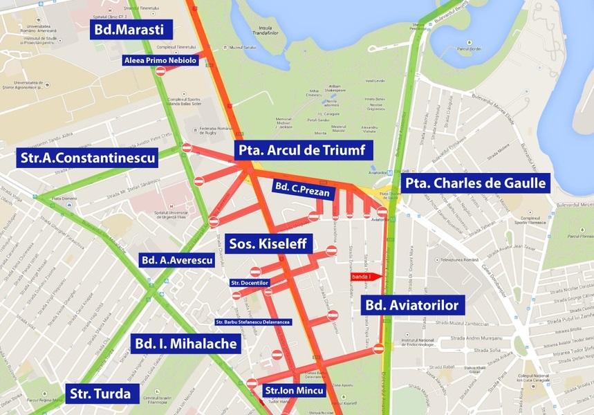 Restricţii De Trafic In Capitală Pentru News Ro