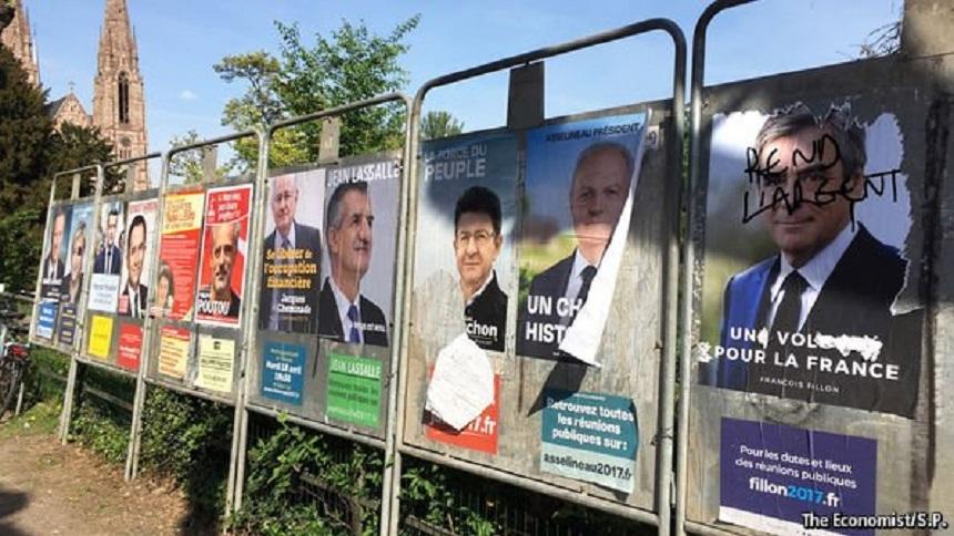 Image result for campanie electorala franta