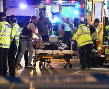 "Poliţie: A fost vorba de ""incidente teroriste"" la London Bridge şi Borough Market"