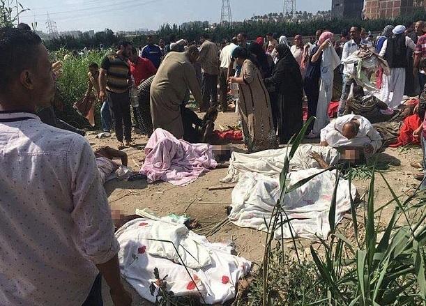 Egipt: Bilanţul a urcat la 49 de morţi în urma ciocnirii frontale a două trenuri de pasageri în Alexandria