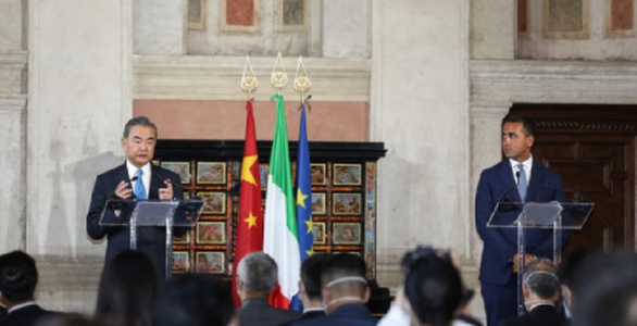 "Italia consideră China un ""partener strategic economic şi industrial"""