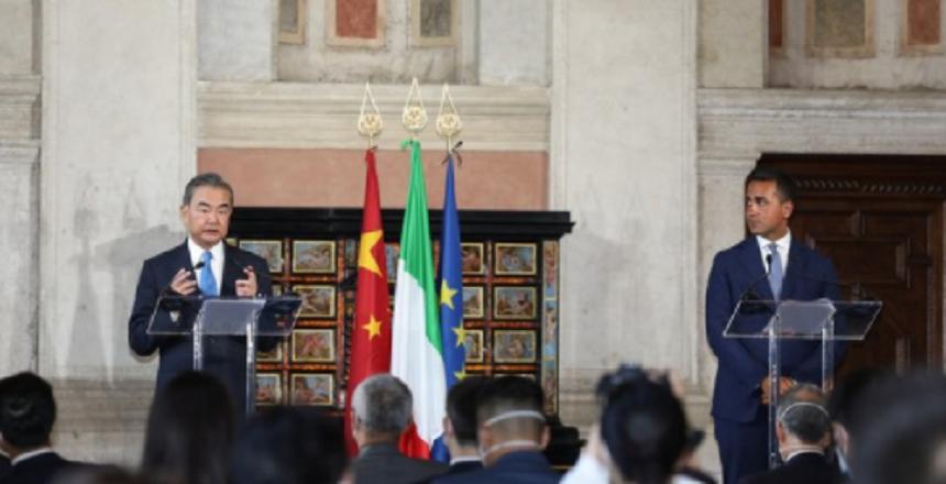 """Italia consideră China un """"partener strategic economic şi industrial"""""""