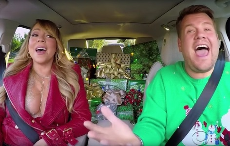 "Adele, Chris Martin, Red Hot Chili Peppers şi Mariah Carey apar într-un episod de Crăciun al emisiunii ""Carpool Karaoke"". VIDEO"