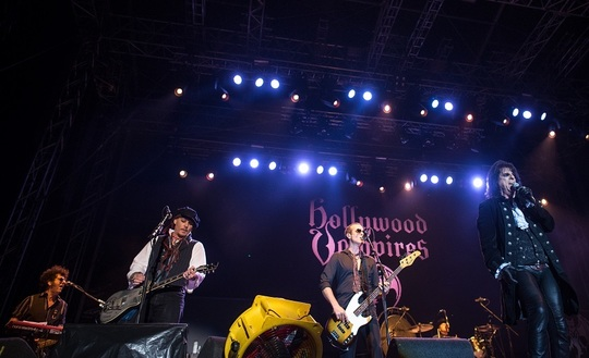 The Hollywood Vampires (Foto: Inquam Photos/ Ştefan Sandu)