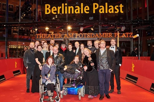 """Echipa filmului """"Nu mă atinge-mă"""", la premiera de la Berlin"""