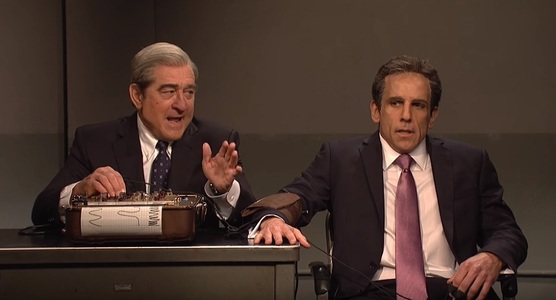 "Robert De Niro şi Ben Stiller i-au interpretat pe Robert Mueller şi pe avocatul lui Donald Trump la ""SNL"" – VIDEO"