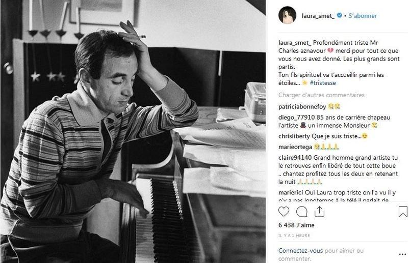 Laura Smet Mireille Mathieu Emmanuel Macron Marine Pen Reactioneaza Moartea Charles Aznavour