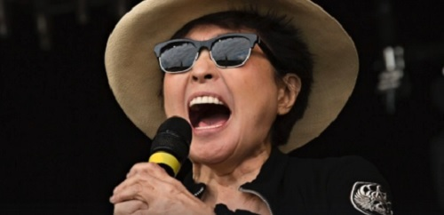 "Yoko Ono a lansat un cover al piesei ""Imagine"" a lui John Lennon - VIDEO"