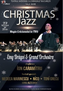 Christmas Jazz la TNB, un spectacol cu Emy Drăgoi & Grand Orchestra, All's Choir şi Magic Violin