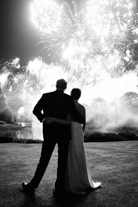 Ducii de Sussex la recepţia de nuntă din 19 mai