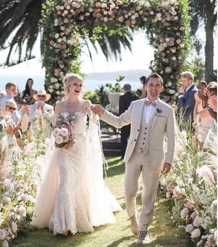 Matt Bellamy, liderul trupei britanice Muse, s-a căsătorit cu modelul Elle Evans
