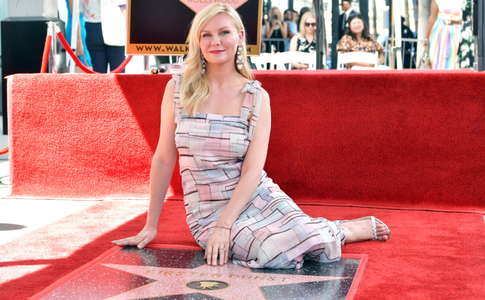 Actriţa Kirsten Dunst a primit o stea pe Hollywood Walk of Fame