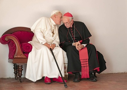 "Trailerul lungmetrajului ""The Two Popes"", cu Anthony Hopkins şi Jonathan Pryce, lansat - VIDEO"