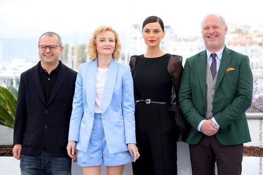 Corneliu Porumboiu, Rodica Lazăr, Catrinel Marlon şi Vlad Ivanov, la Cannes 2019