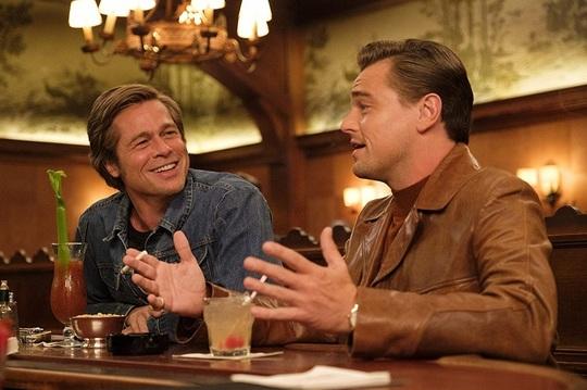 "Brad Pitt şi Leonardo DiCaprio, în ""Once Upon a Time... in Hollywood"""