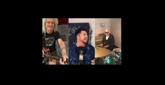 "Queen şi Adam Lambert cântă ""We Are The Champions"" în izolare - VIDEO"