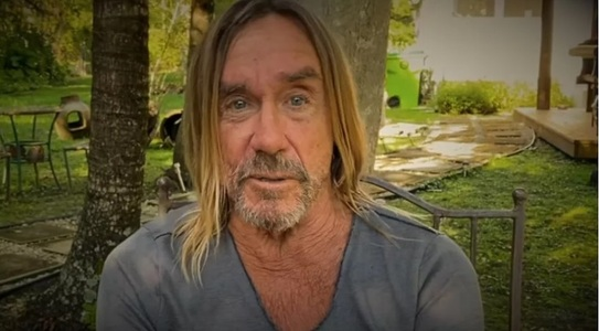 "Iggy Pop a lansat un imn rock anti-coronavirus, ""Dirty Little Virus"" - VIDEO"
