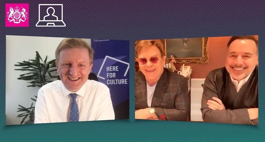 """Elton John, discuţie """"benefică"""" cu ministrul britanic al Culturii privind circulaţia artiştilor din Regat în UE"""