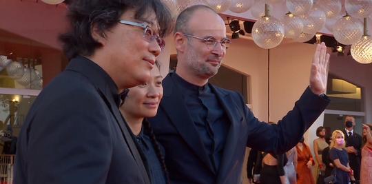Bong Joon-ho, Chloé Zhao şi Alexander Nanau